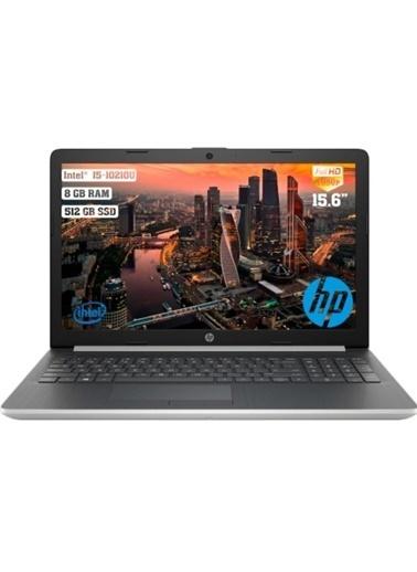 """HP HP 15-DA2082NT 1S7Y3EA i5-10210U 8 GB 512 GB SSD 2 GB MX110 15.6"""" Free Dos Dizüstü Bilgisayar Renkli"""